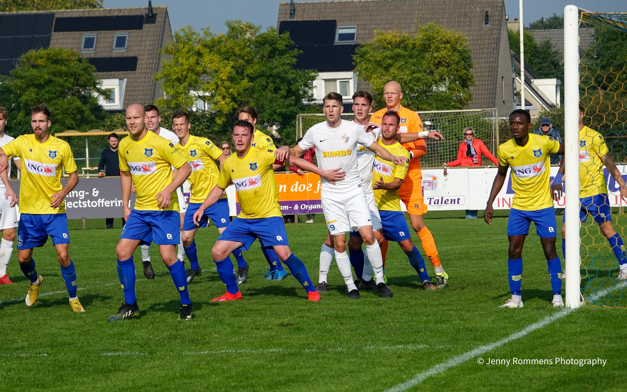 VV Dongen stijgt vijf plaatsten na winst op Hoogland