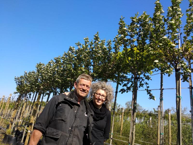 Nieuwe sponsor Erwin en Janny de Jong