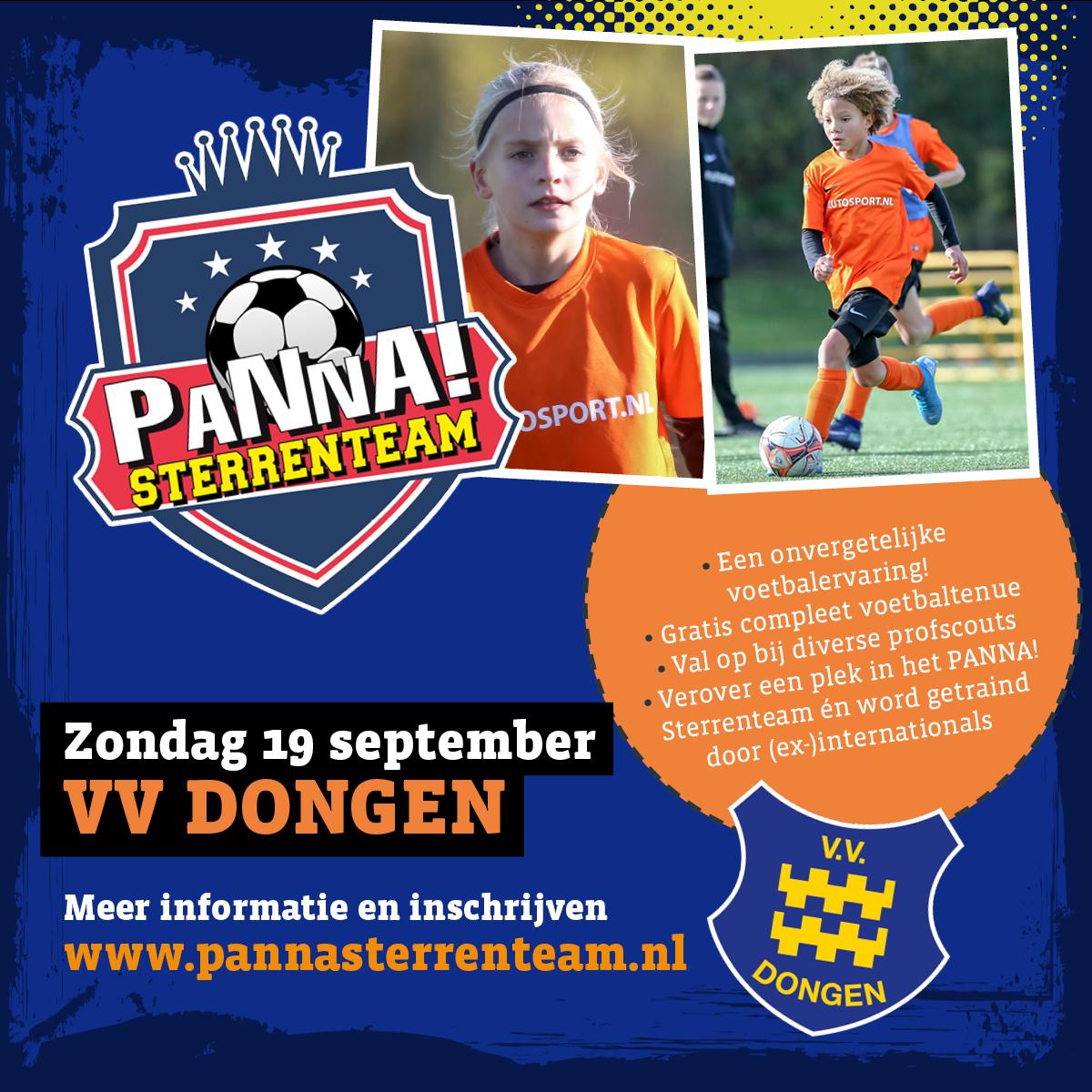 PANNA! Sterrenteamdag bij VV Dongen!