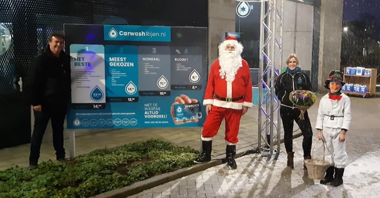 Carwash Rijen nieuwe SUB sponsor VV Dongen