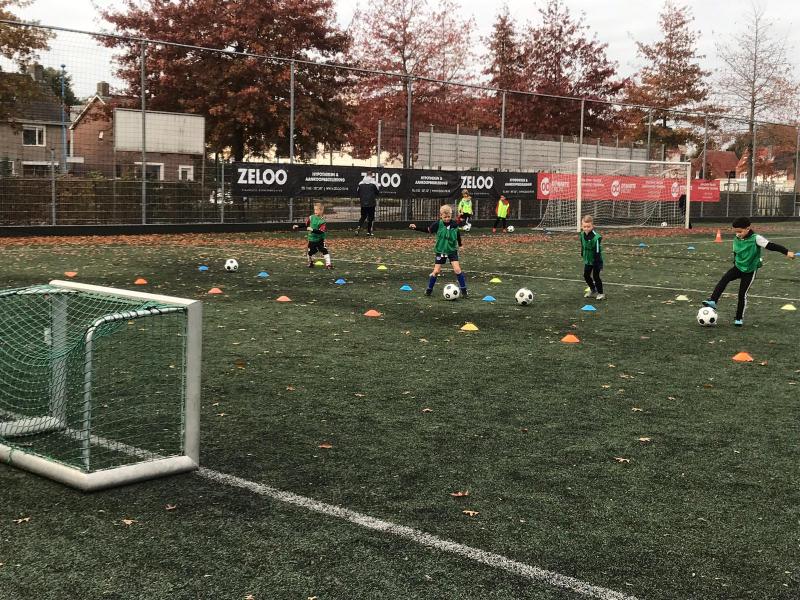 Open trainingen bij VV Dongen
