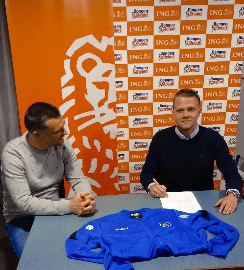 Sven Kerst nieuwe trainer VV Dongen JO15-1