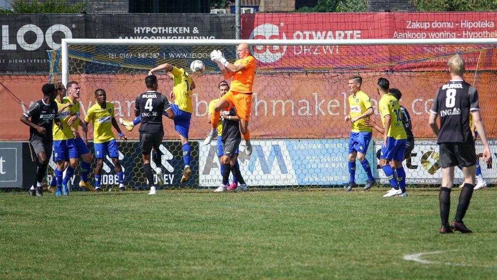 Eerste overwinning VV Dongen