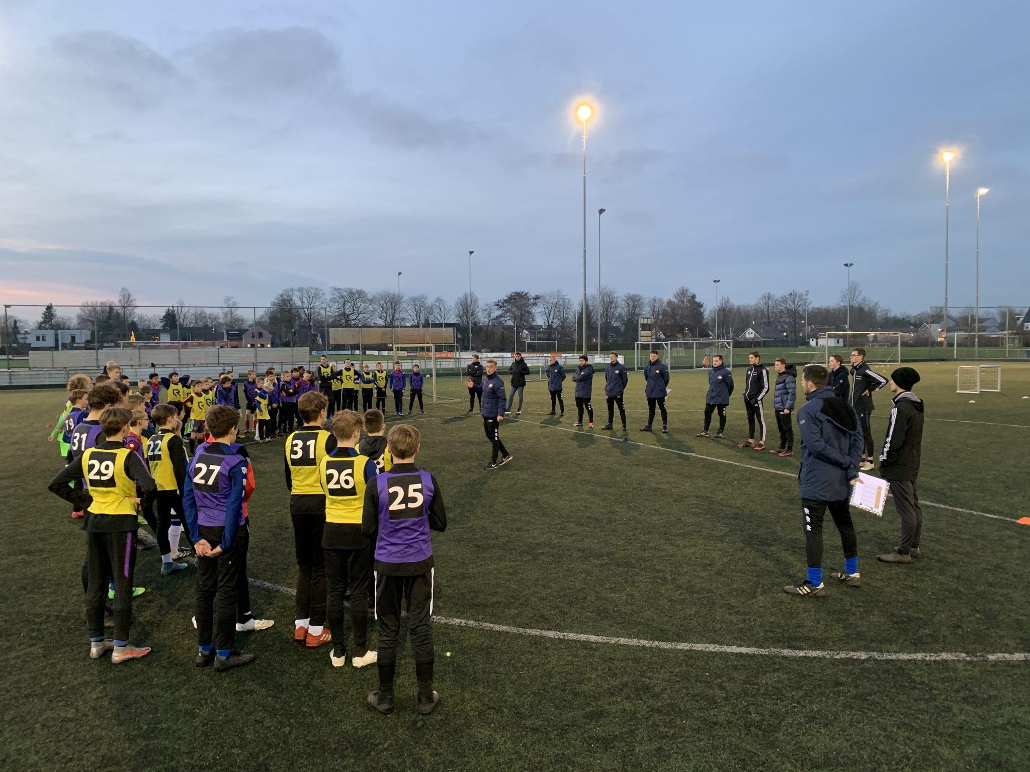 Geslaagde Willem II Talentendag bij VV Dongen